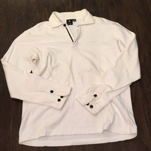 Victorinox Men 1/4 zip Pullover white M